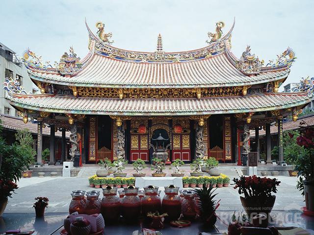Китайская крыша Фото 4