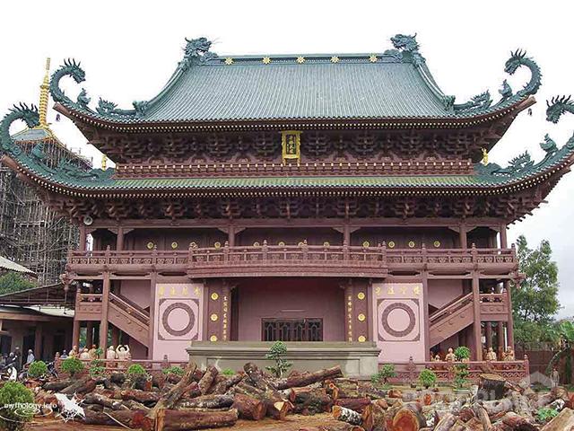 Китайская крыша Фото 5