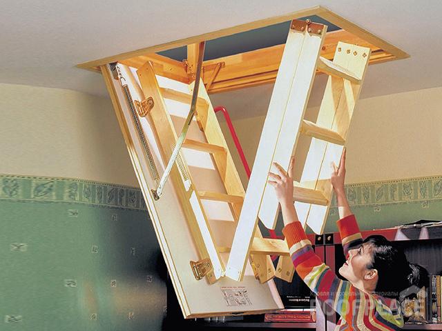 Чердачные лестницы OMAN Фото 5