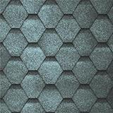 Шинглас Финская черепица цвет Серый