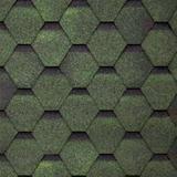 Шинглас Финская черепица цвет Зелёный