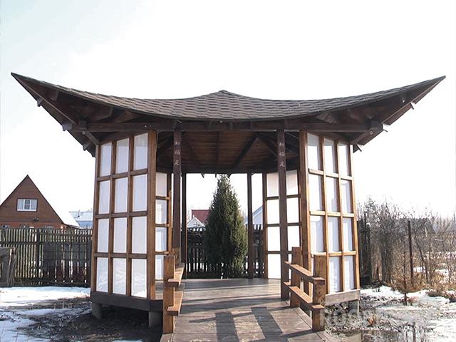 Китайская крыша Фото 1