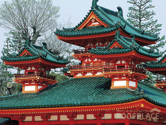 Китайская крыша Фото 3