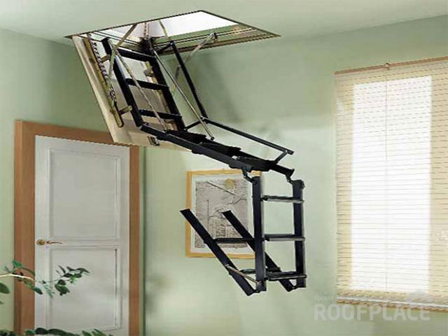 Чердачные лестницы OMAN Фото 4