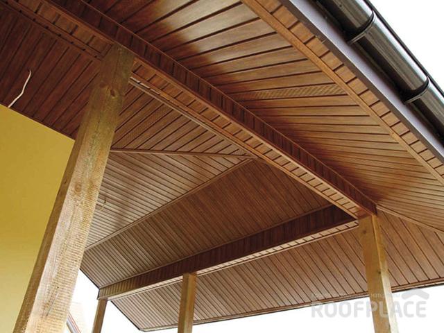 Подшивка свесов крыши Фото 3