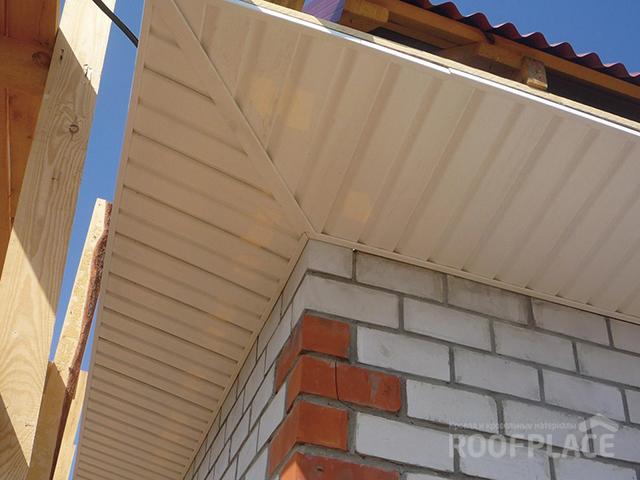 Подшивка свесов крыши Фото 5