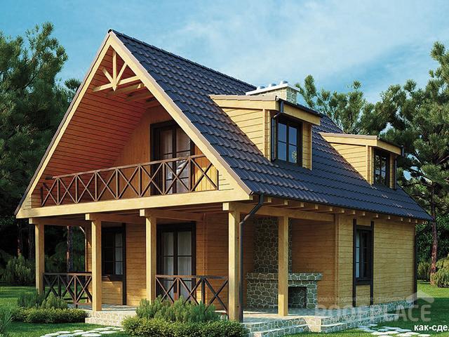 Скатная крыша Фото 5