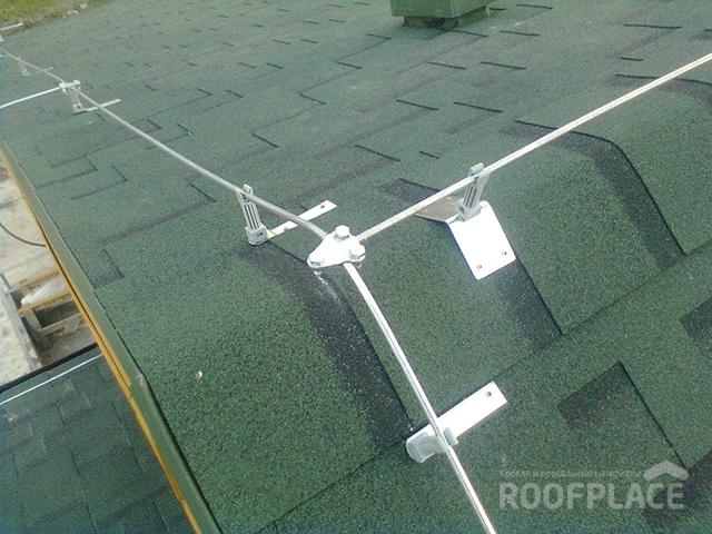 Молниезащита крыши Фото 5
