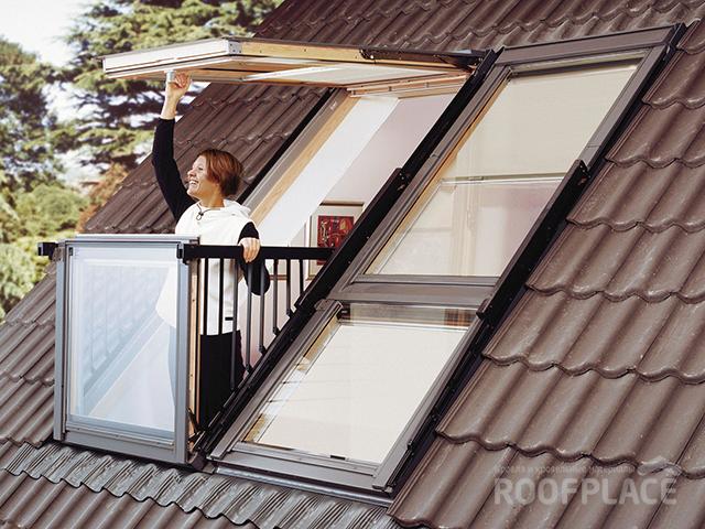 Мансардные окна Velux Фото 1