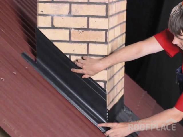 Как заделать трубу на крыше Фото 3